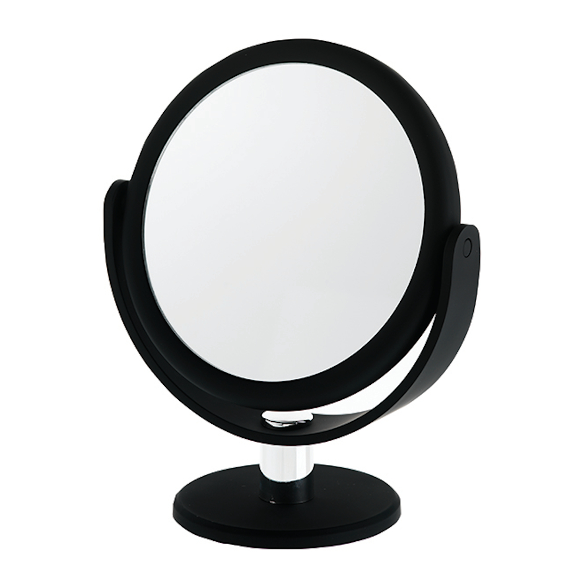 Danielle Creations Round Soft Touch Black Vanity Mirror X1 X12 Mag
