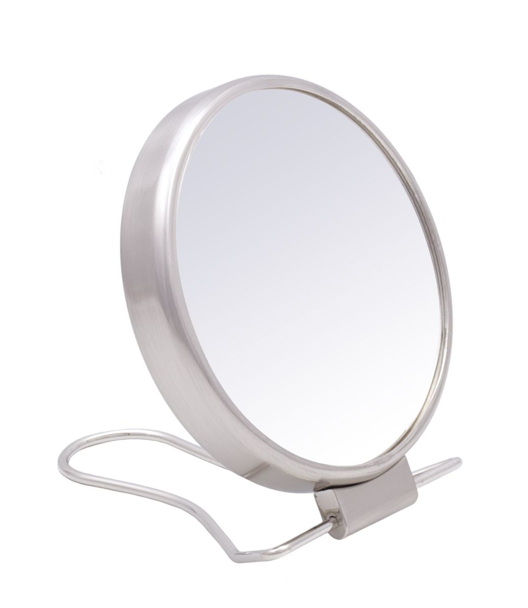 Danielle creations 10cm easel shaving mirror satin for Shaving mirror