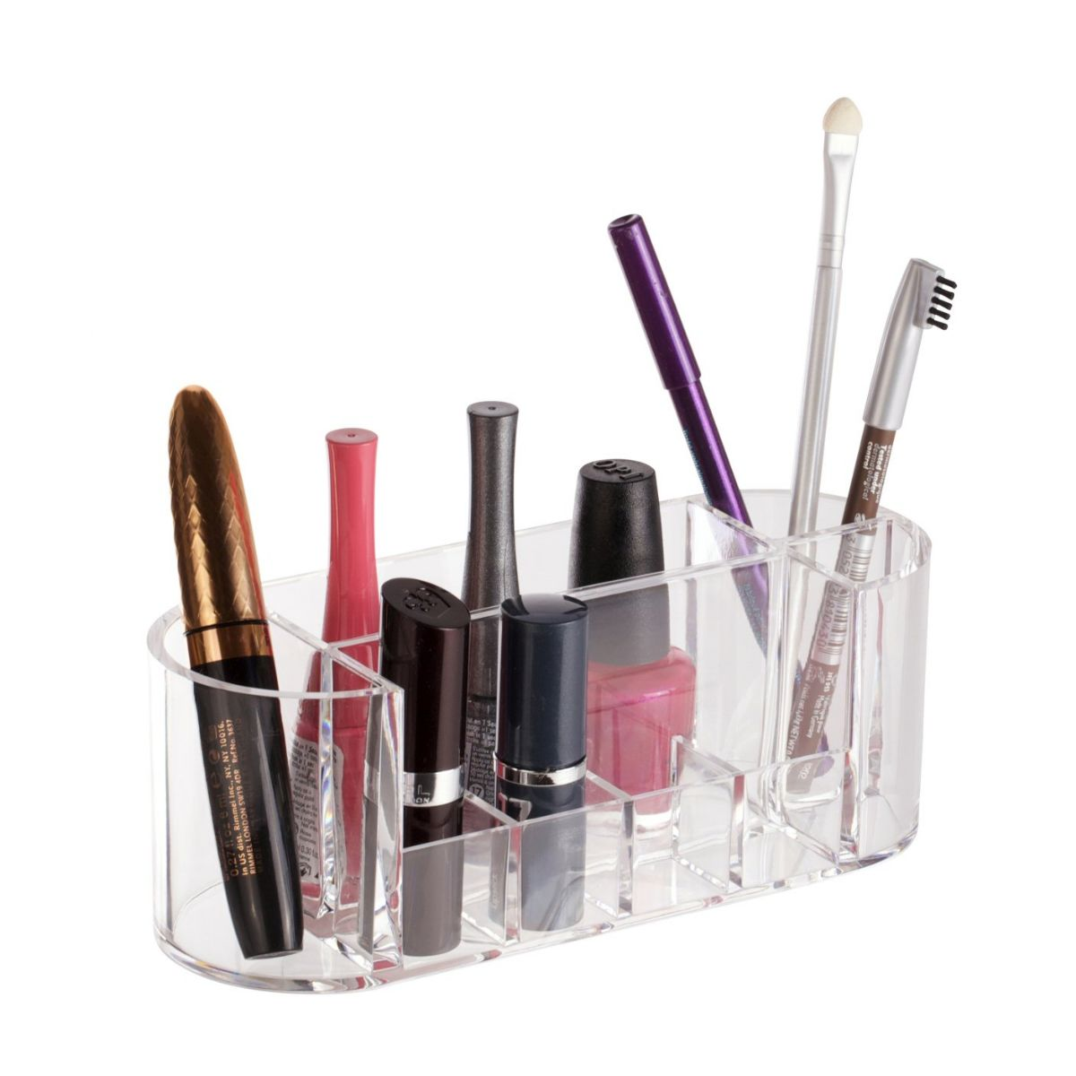 This range of practical and stylish acrylic cosmetics organisers and  caddies look great in both the bedroom and the bathroom with ample storage  space for. Danielle Creations   Cosmetic Organiser
